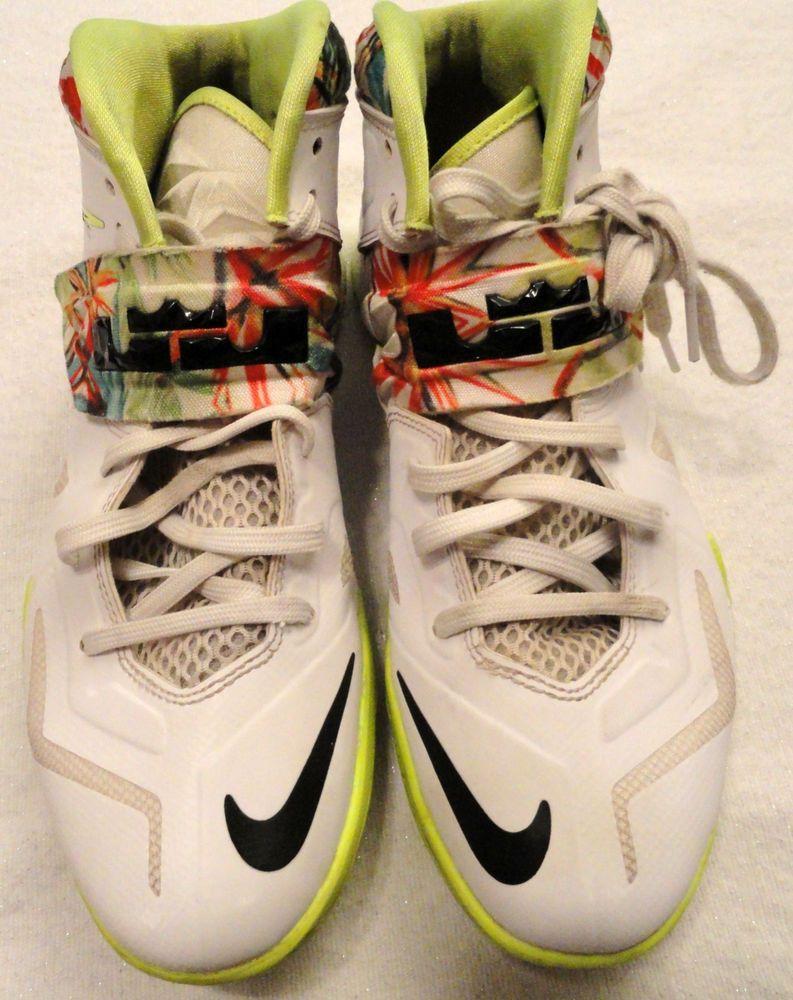 8a0a92a00b22 Nike Men Sz 7.5 Lebron Zoom Soldier VII Kings Pride Sneaker 599264-103  Basketbal  Nike  LebronZoomSoldierVIIKingsPride