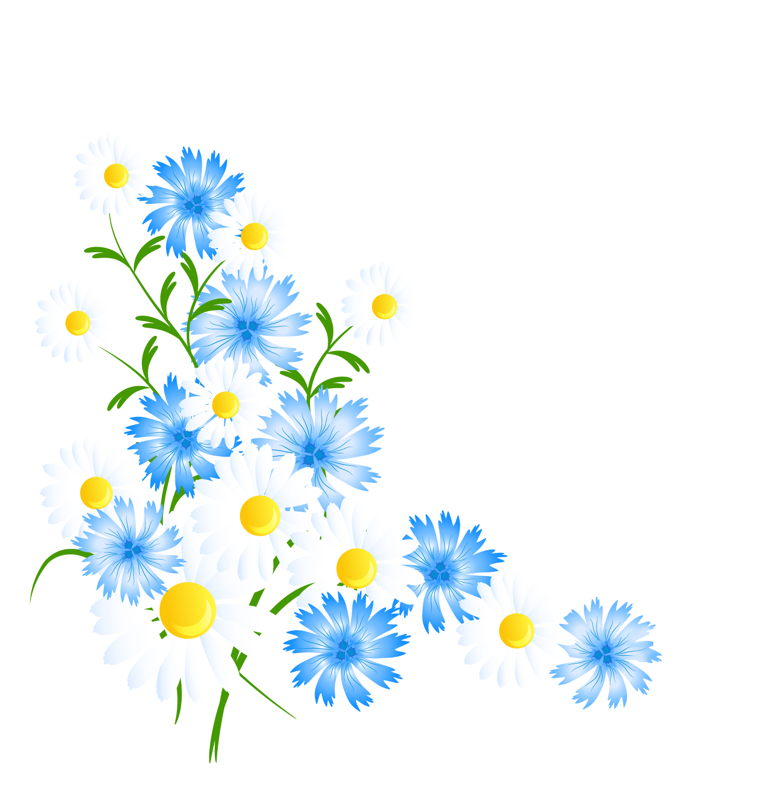 Spring Flowers Decortive Element Png Clipart Flower Drawing Flower Border Clipart Flower Art