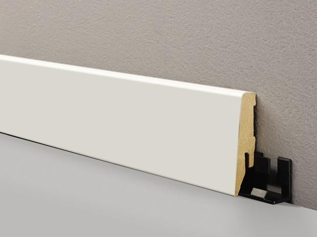 LOGOCLIC Sockelleiste K58 C Wei matt | sockelleisten ...