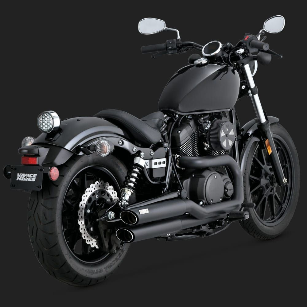 Competition Series Slip On With Images Yamaha Bolt