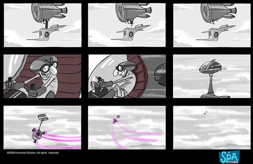 Despicable Me Storyboard  Storyboard    Storyboard