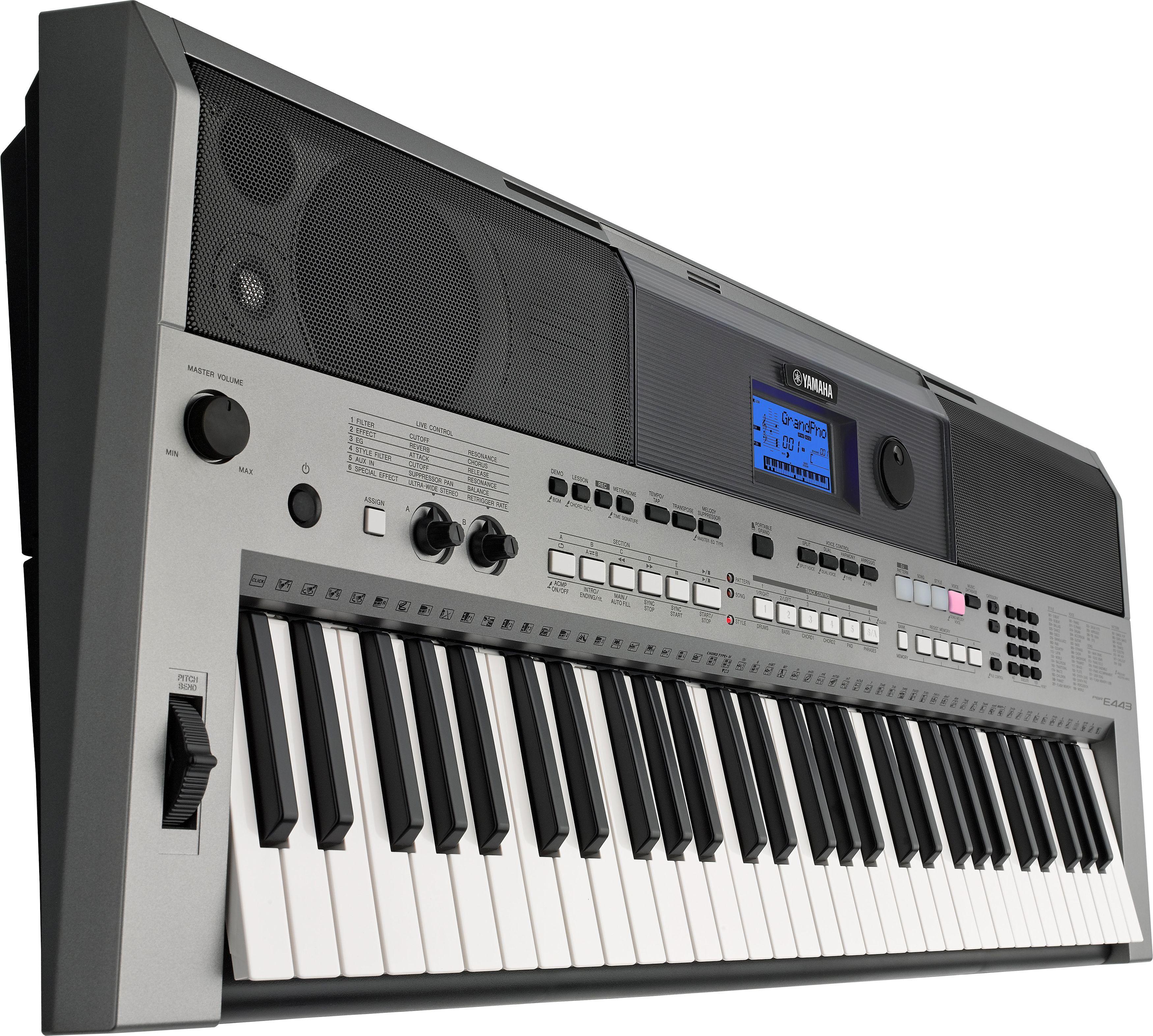 yamaha psr e443 portable keyboard with 61 keys best digital piano yamaha keyboard best. Black Bedroom Furniture Sets. Home Design Ideas