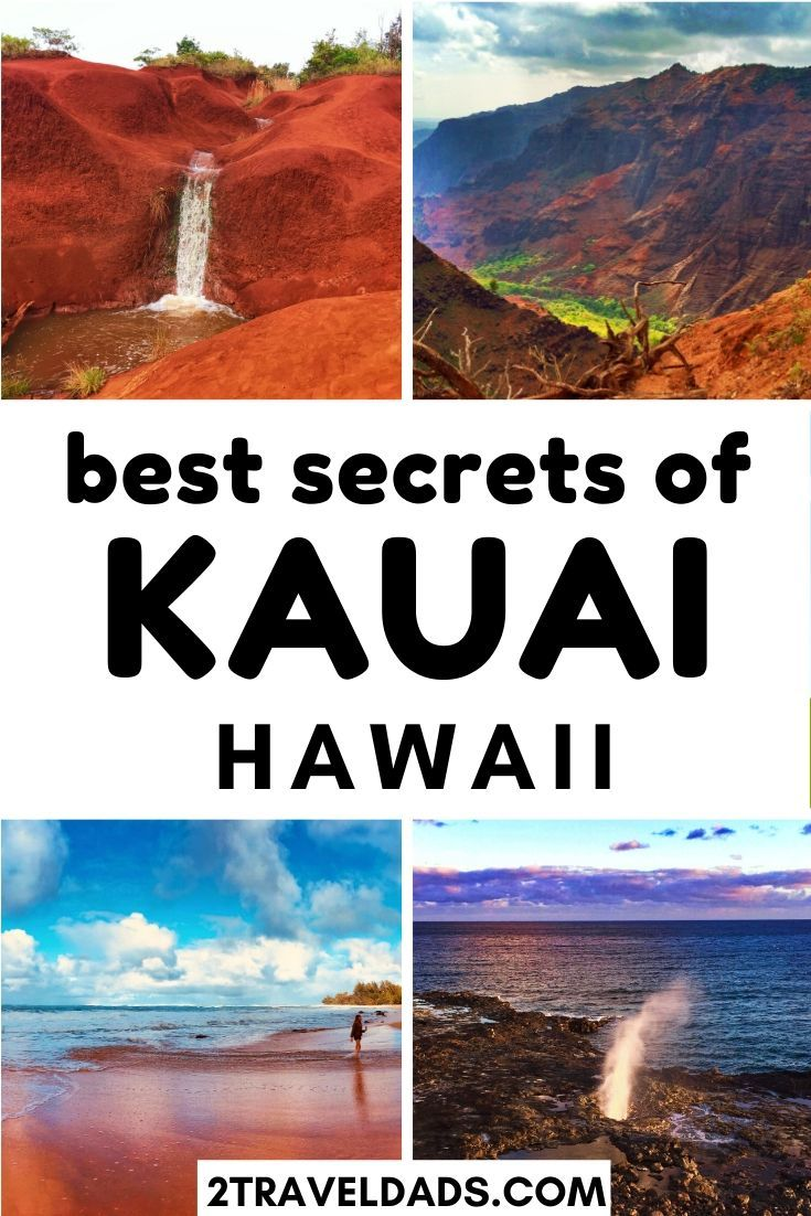 Finding off the beaten path Kauai isn't difficult if you know where to look. Caves, waterfalls, shave ice and more are just off the road on the Garden Island of Hawaii. Recommendations for where to stay on Kauai, tropical hiking and best secret(ish) activities. #Hawaii #tropical #beachvacation #kauai