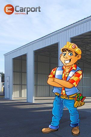 Photo of Clear Span Garage with Side Entry | 30×51 Garage Building