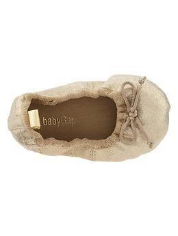 Sparkle ballet flats | Gap | Baby