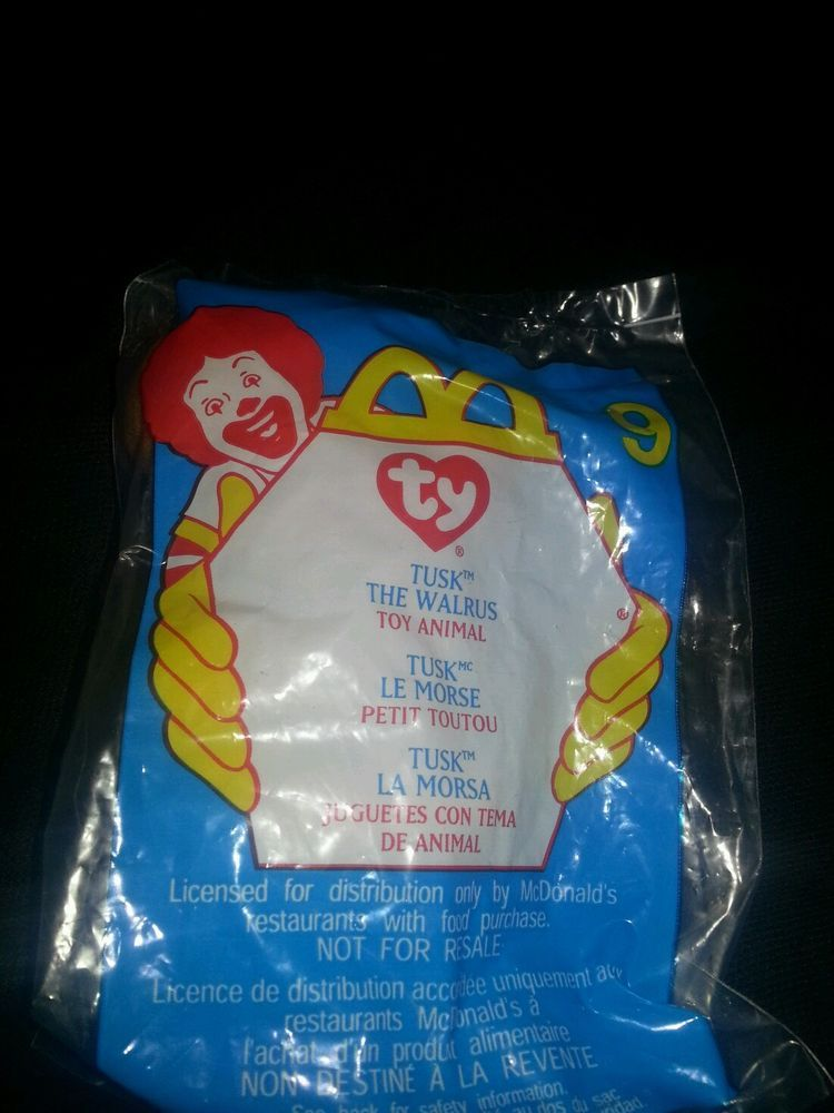McDonald's plushie happy meal toys  #McDonalds