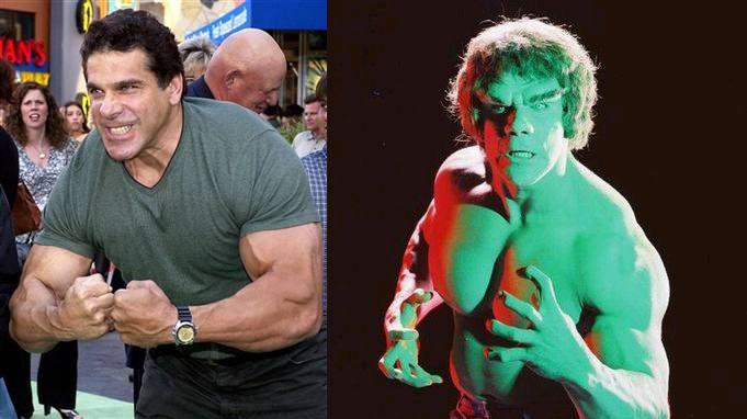 Lou Ferringo He Was Soooo Nice Had A Great Chat With Him Hulk Tv Incredible Hulk Tv Incredible Hulk