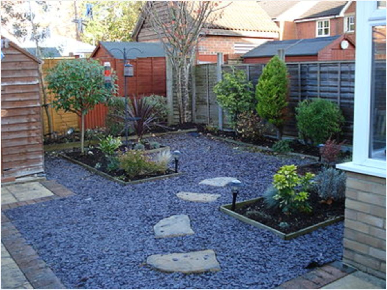 40 Perfect Backyard Landscape Ideas Without Grass | No ...