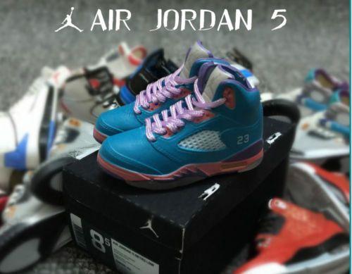 MINI-1-6-NBA-CHICAGO-BULLS-Michael-Air-Jordan-5-for-12-Figures-1