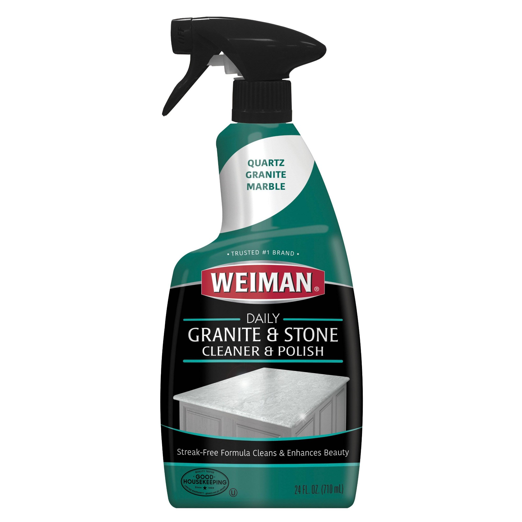 Weiman Granite Cleaner And Polish Spray 24oz Granite Cleaner