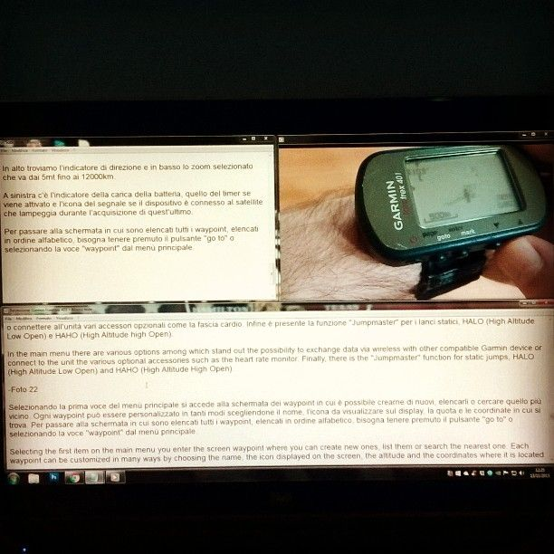 """Another review """"work in progress"""" #NextLevelAirsoft #garmin #outdoor #foretrex #gps #airsoft #multitasking #softair #tactical"""