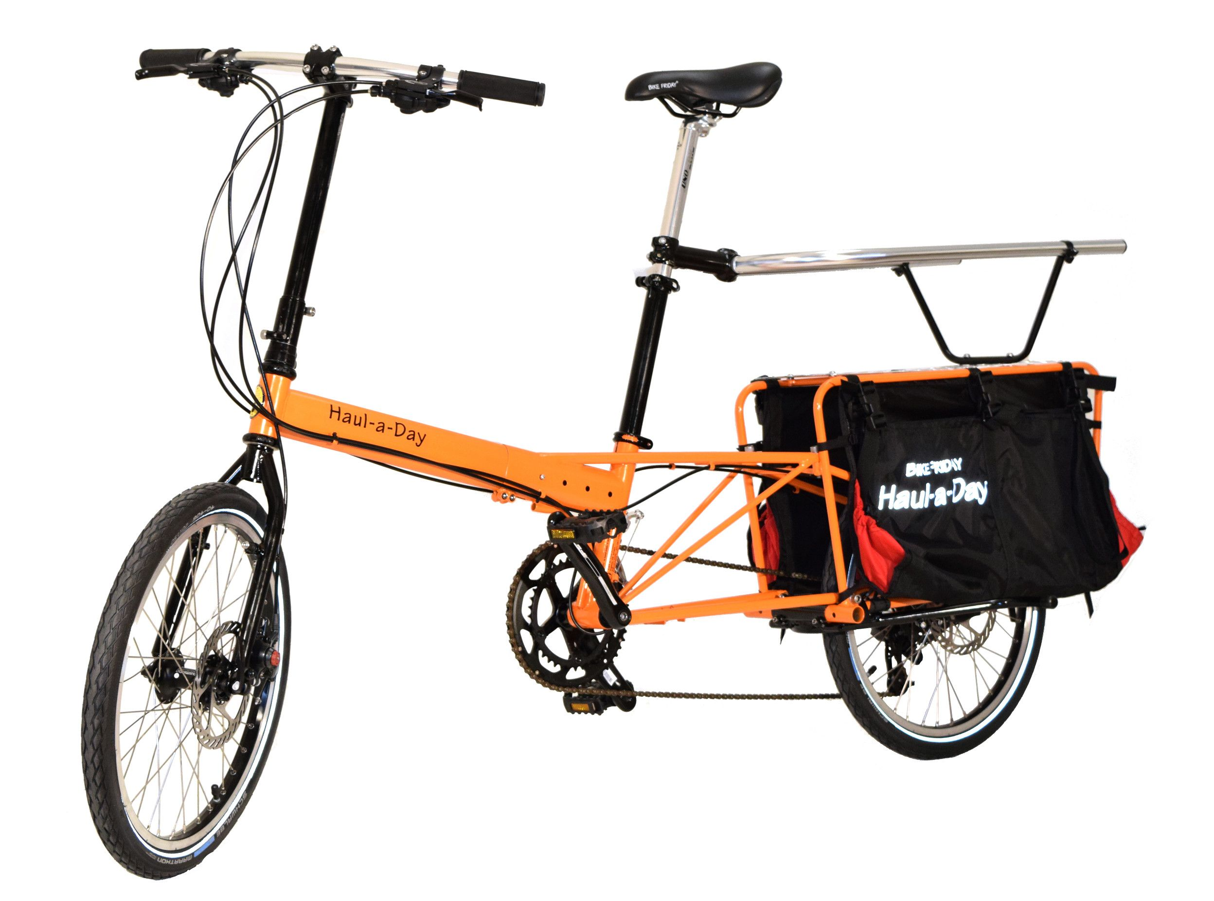 Bike Friday Launches New Cargo Bike And Hopes To Build A Bigger