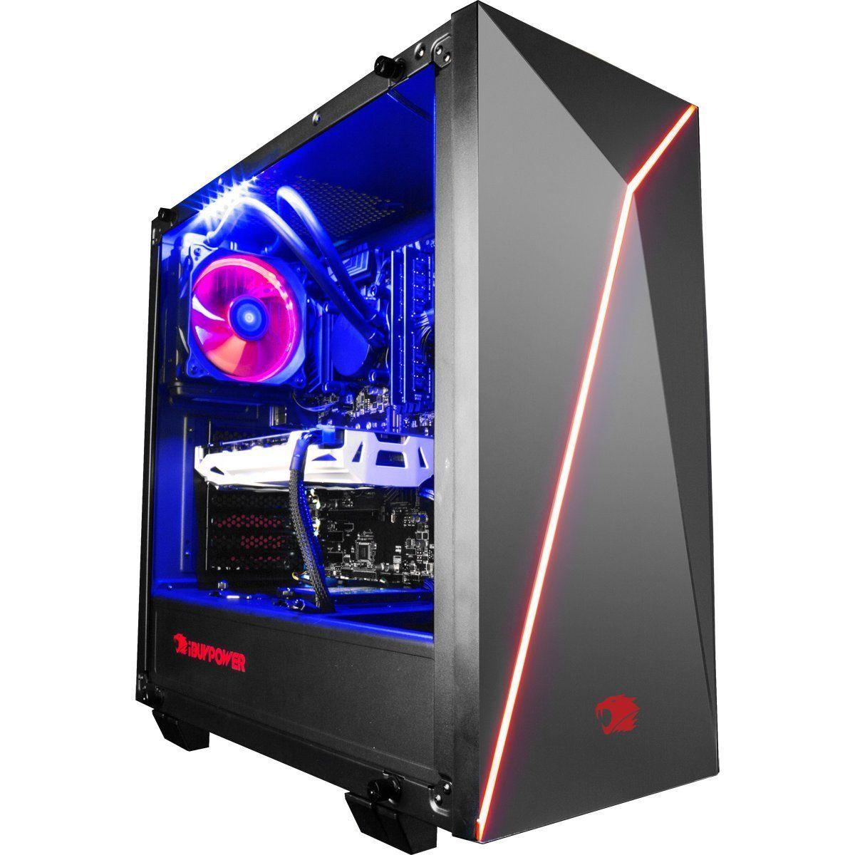 Amazon Com Ibuypower Gaming Pc Desktop 9200 I7 8700k 6 Core 3 7
