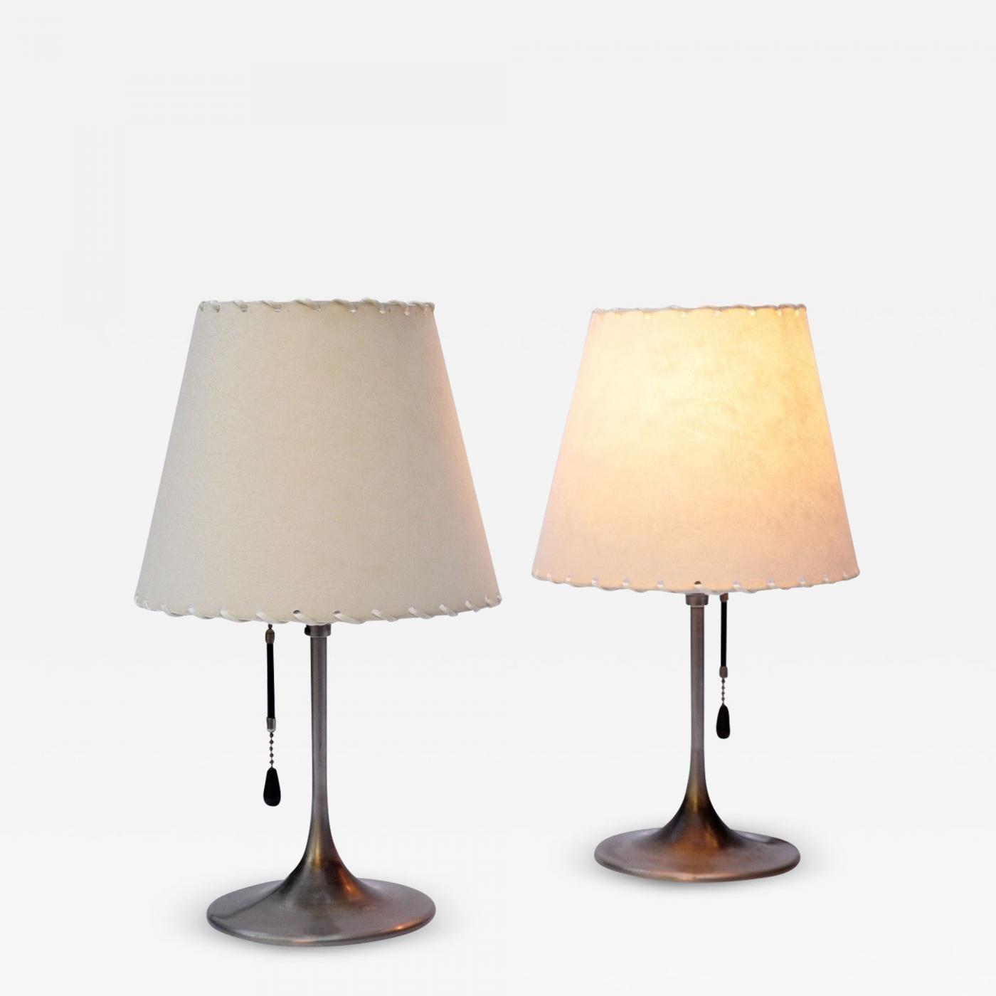 Pair Of Bronzewarenfabrik 1930 S Bedside Lamps Lamp Bedside Lamp Table Lamp