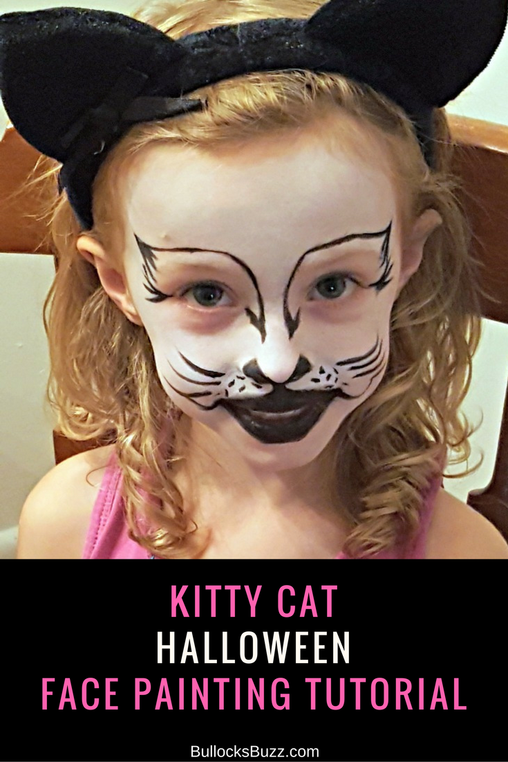 halloween cat face paint tutorial picture gallery