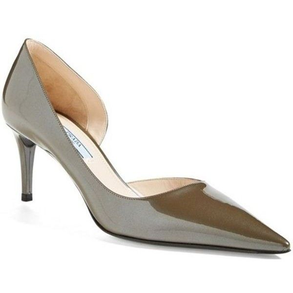 Pre-owned - PATENT LEATHER COURT SHOES Prada OkDBgK