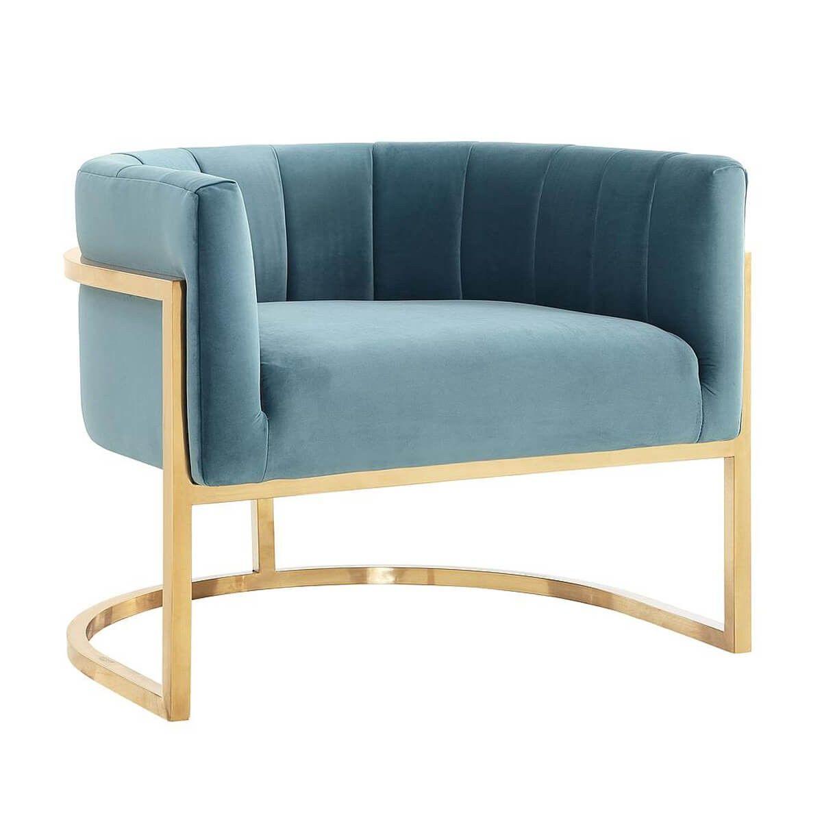 Best Magnolia Chair Sea Blue Blue Accent Chairs Blue Chair 400 x 300