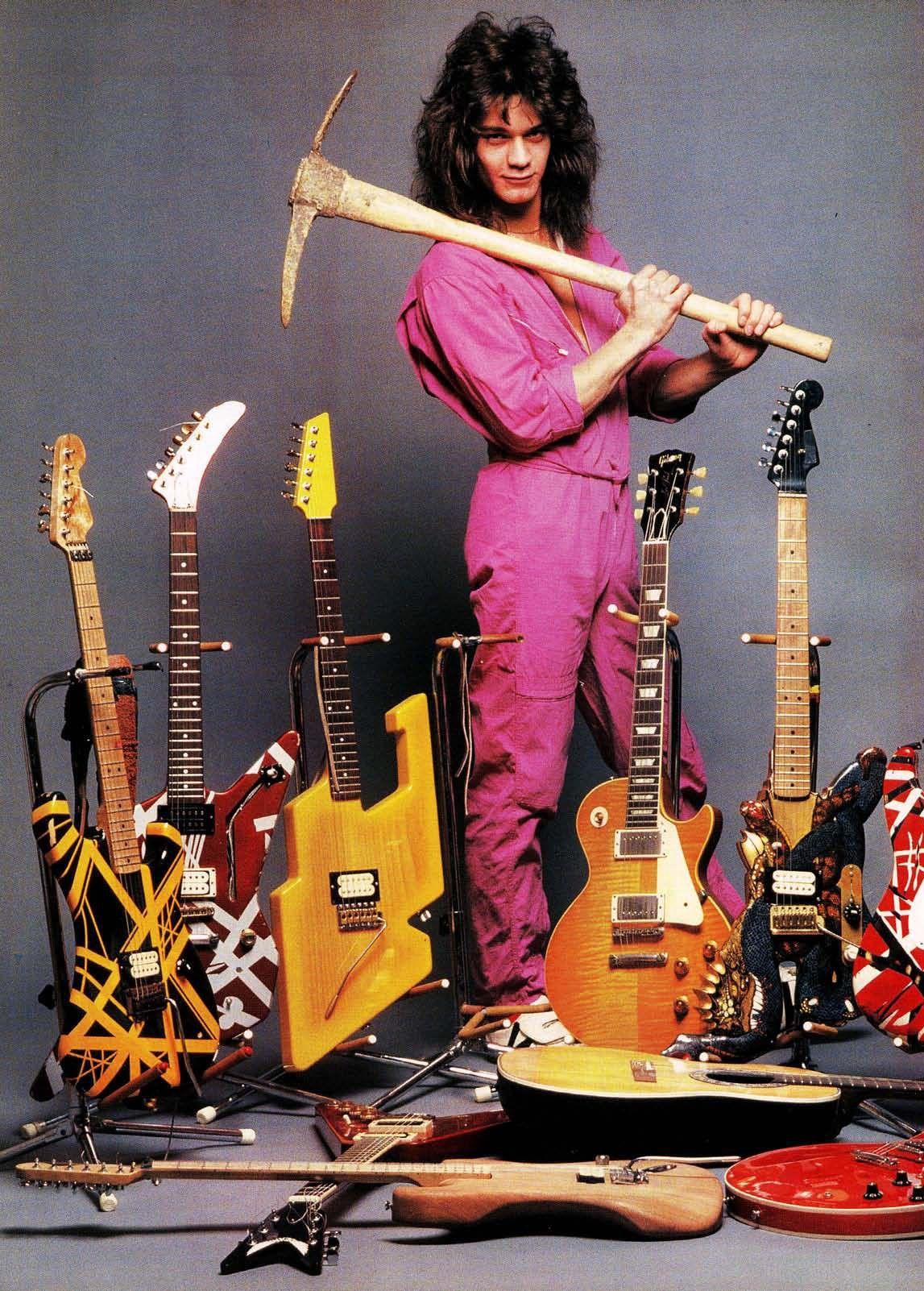 Eddie Van Halen Eddie Van Halen Van Halen Famous Musicians