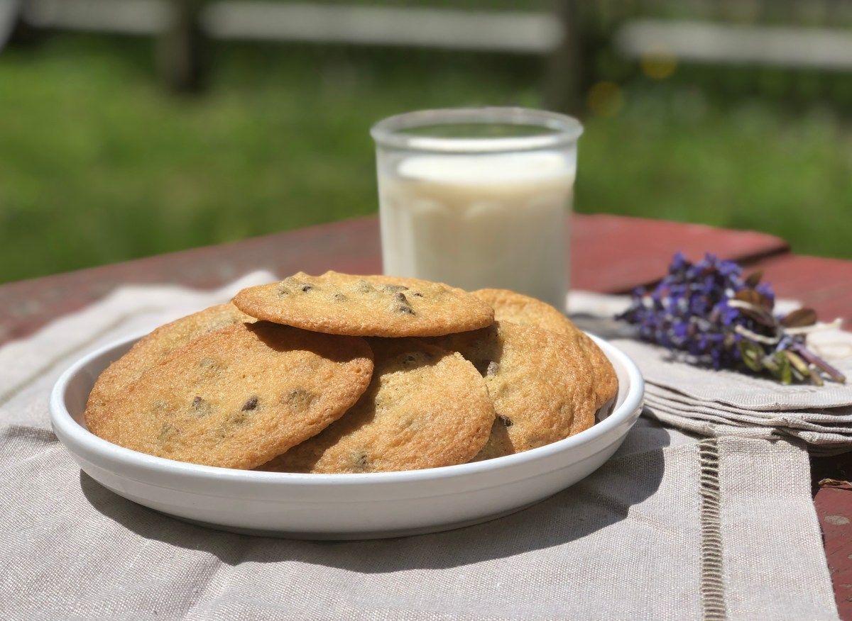 Glutenfree chocolate chip cookies tates style turning