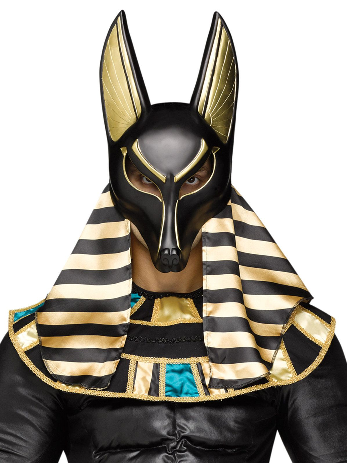 Custom Anubis Egyptian Jackal Leather Mask by senorwong.deviantart ...