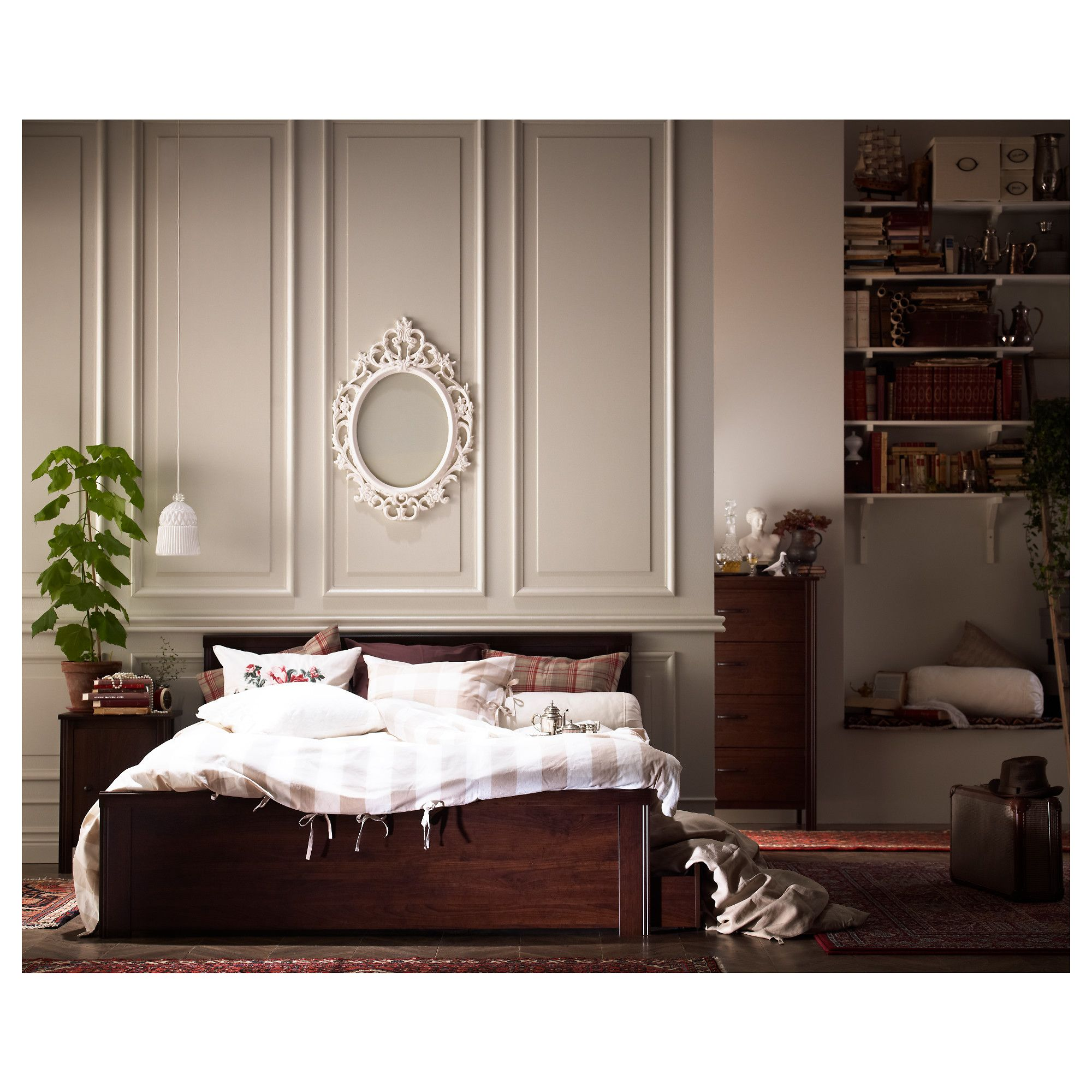 Furniture And Home Furnishings Ikea Bed Bed Frame Bedroom Trends
