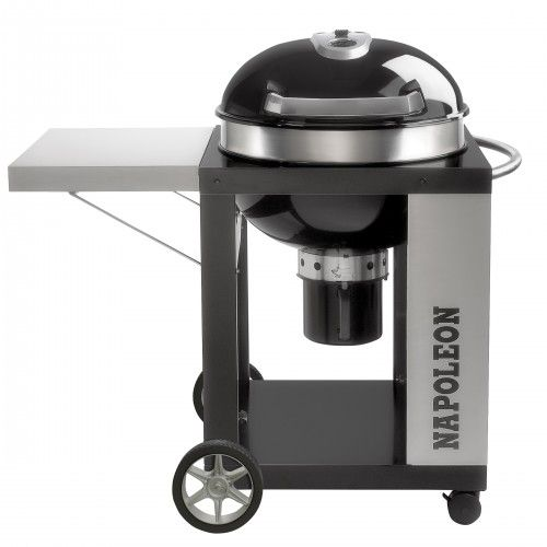 Napoleon 57cm Pro 22 Charcoal Cart Barbecue | Kettle grills