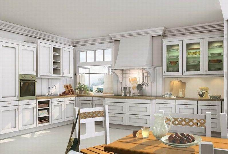 Genial STYLING :: U003c3 The Racks W/ Utensils U0026 Dishtowels, Quad Window Above The  Main Kitchen Window, Cutting Boards On Display, White Kitchen Cabinet W/  Glaze