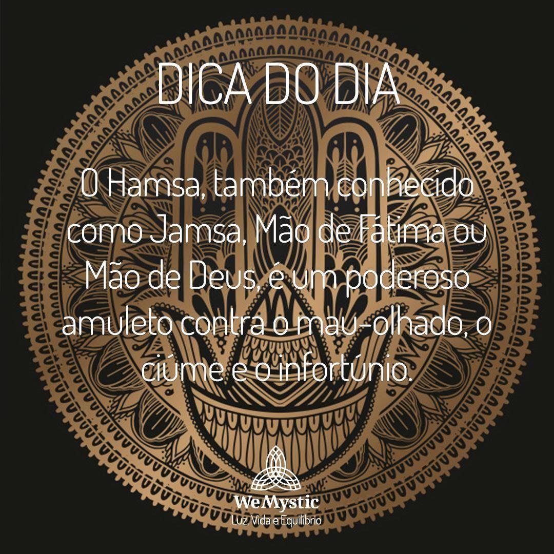 Wemystic Brasil On Instagram O Hamsa E Um Simbolo Sagrado Para O