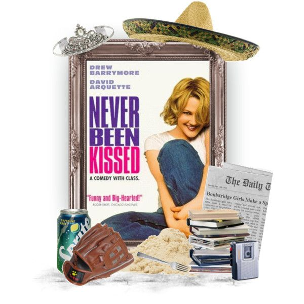 Never Been Kissed by worldofzack on Polyvore featuring art