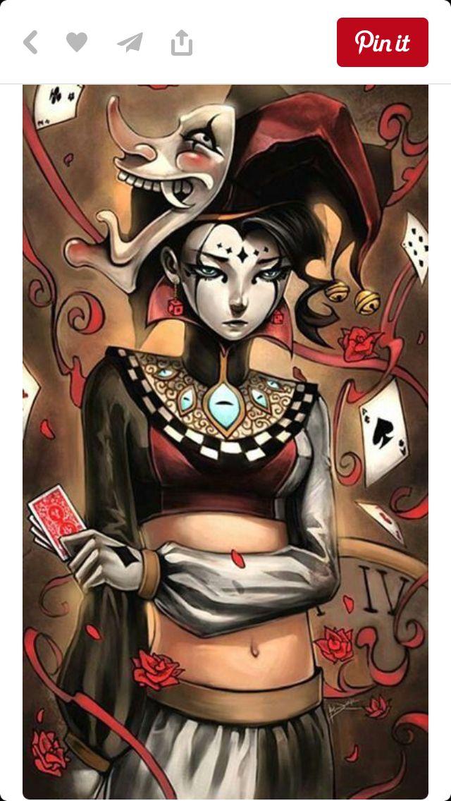 Jester clown evil Halloween Character art, Art, Comic art