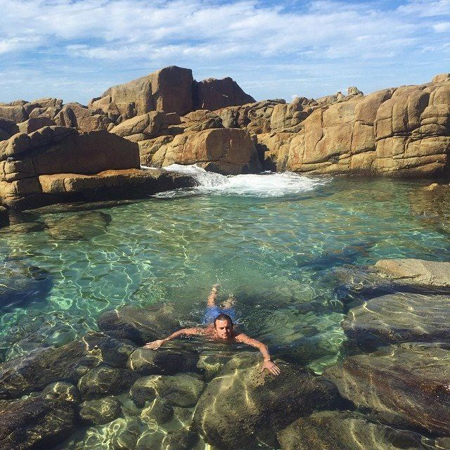 High Quality Near Berrara Shoalhaven South West Rocks Nsw Australia Mermaid Pools Ocean  Travel Beach