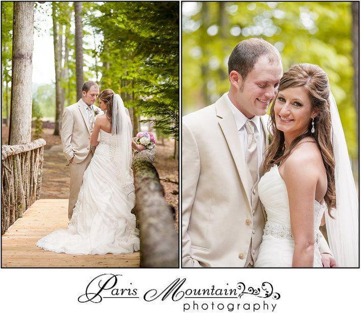 PARIS MOUNTAIN PHOTOGRAPHY wedding bride and groom Indigo Falls Events Dallas Ga