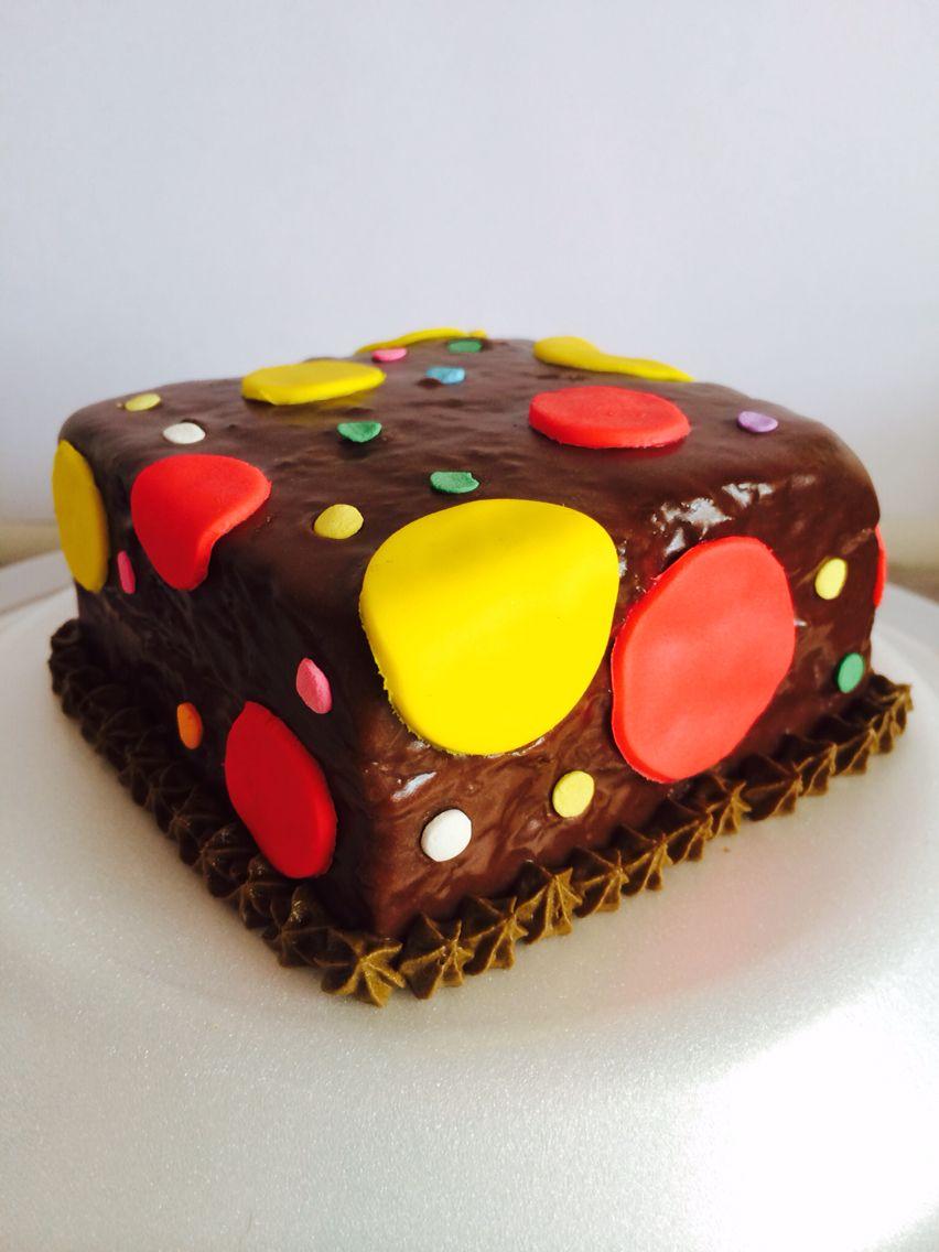 Minitorta de chocolate con relleno de fresa!!! pedidos wapp 3112080181