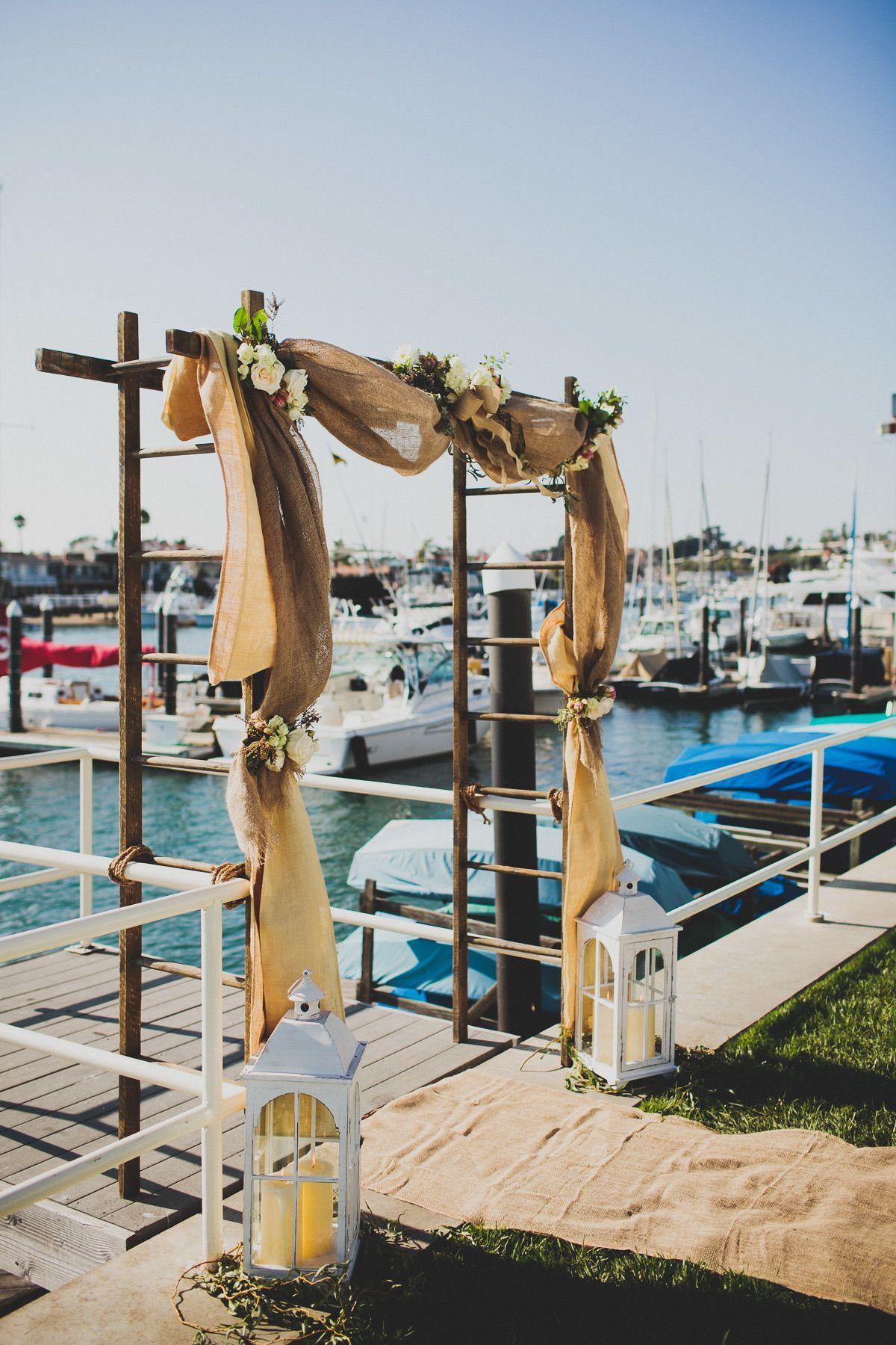 Yacht wedding decoration ideas  yachtwedding  Yacht life  Pinterest