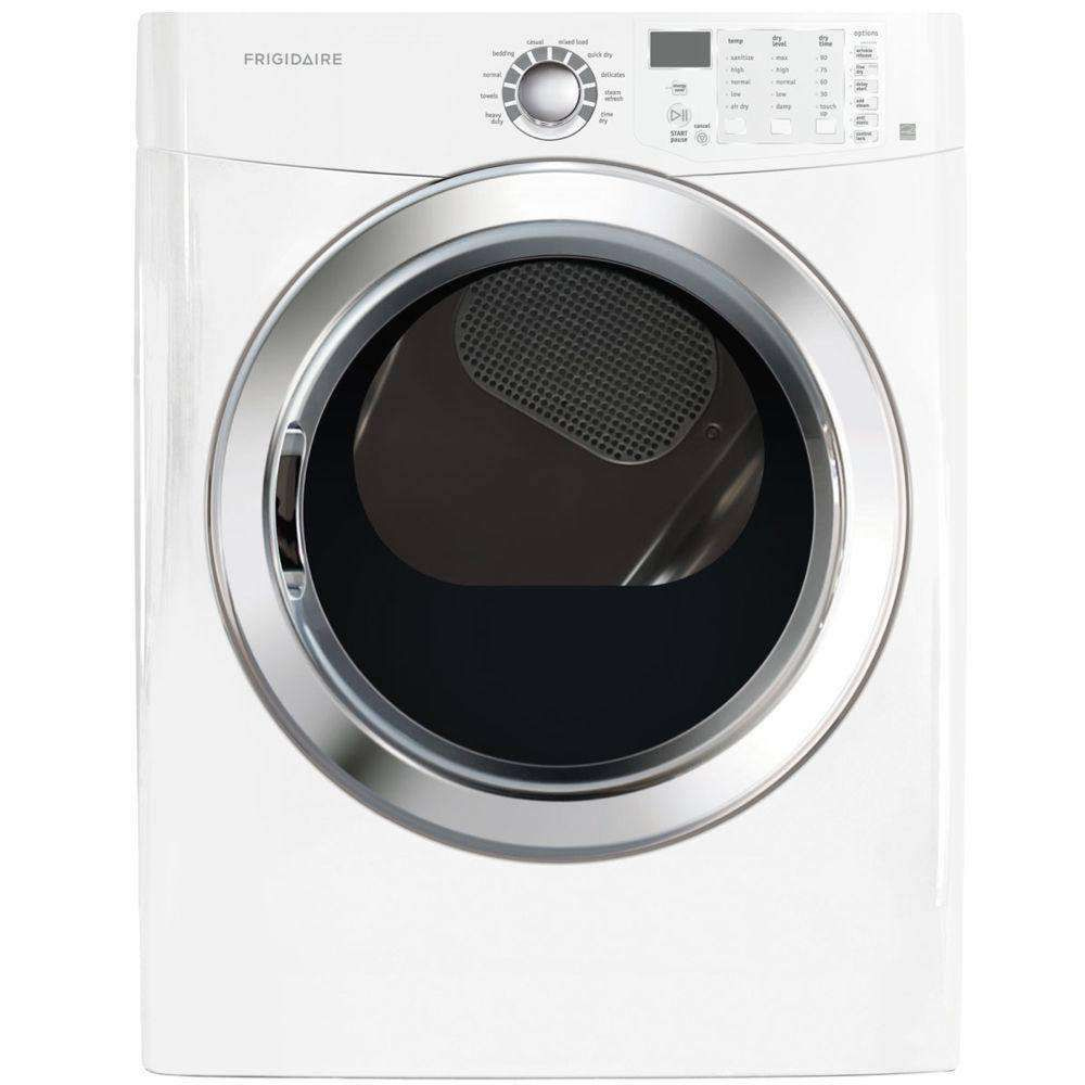 Ffsg5115pw by frigidaire natural gas dryers goedekers