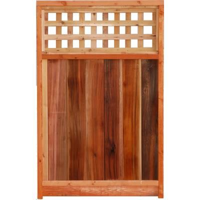 Aim Cedar Works Ltd 3x5 Gate Square Lattice Top 3x5 Gate