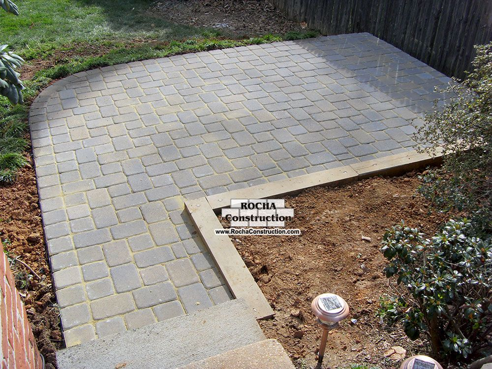 patio pavers to go with brick house google search - Pavers Patio Ideas