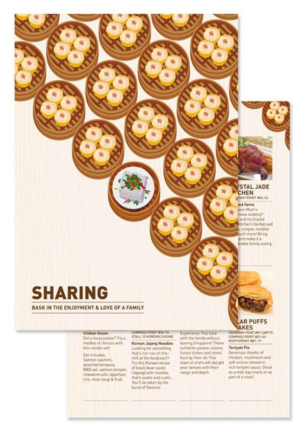Food For Every Occasion Food Guide On Behance