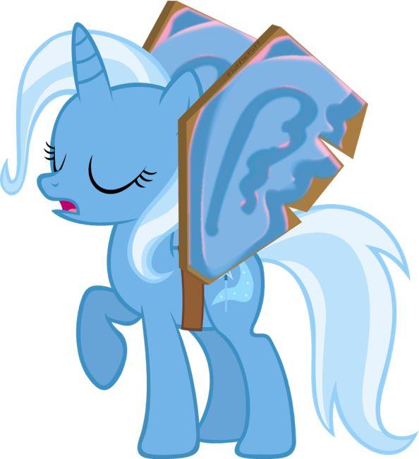 Trixie Tries To Be An Alicorn Nice Try My Little Pony Friendship My Little Pony Pony