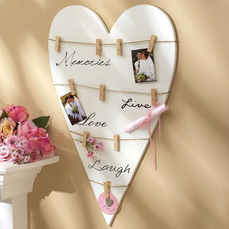 Wood Heart Plaque - make this