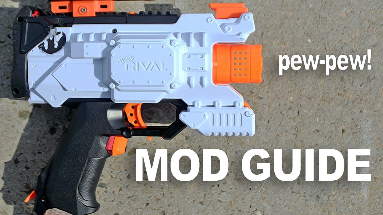 FIRST NERF RIVAL HERA PISTOL IN