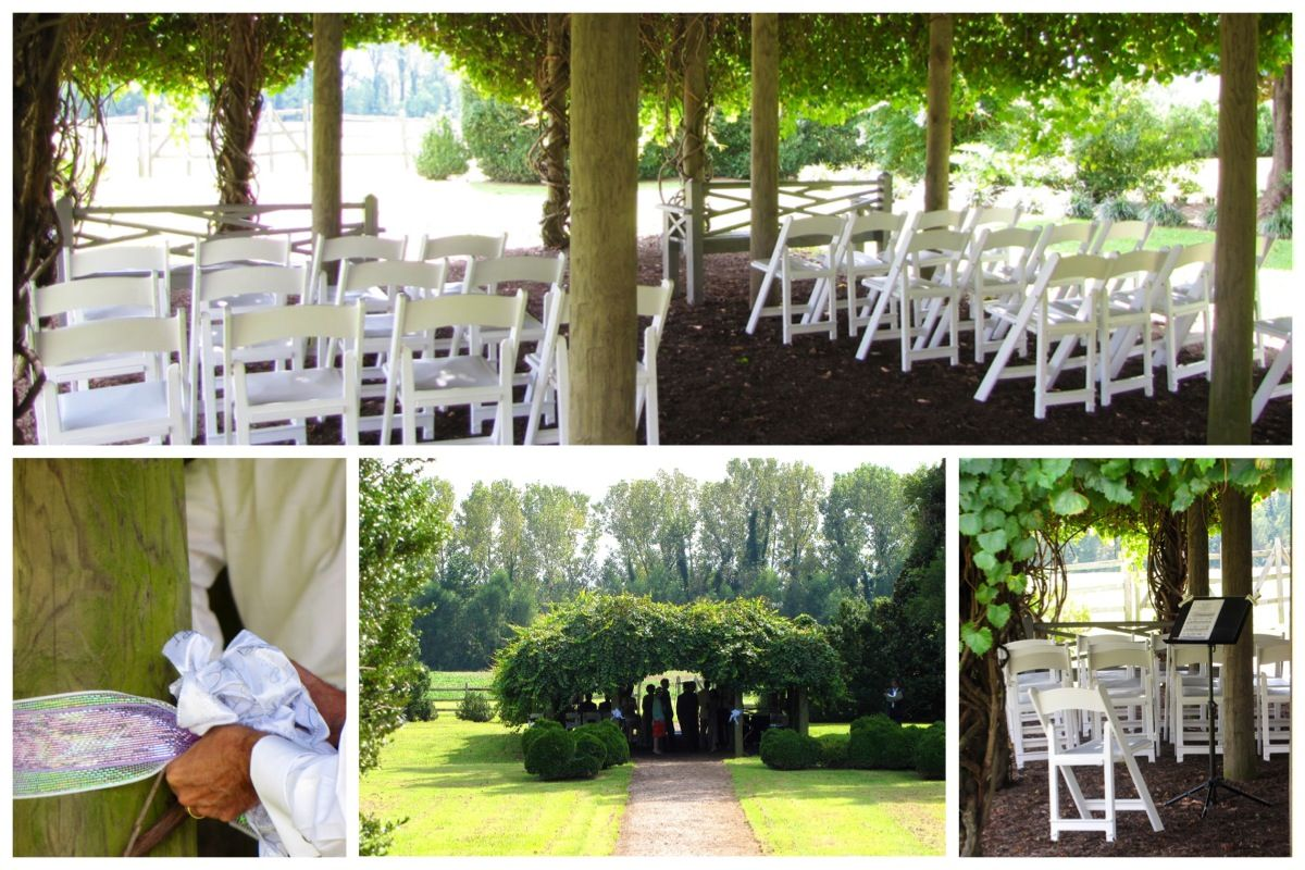 Yes, your wedding can be held at Shirley Plantation