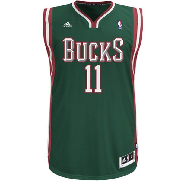 5cb1454e4 Monta Ellis Milwaukee Bucks Road Swingman Jersey