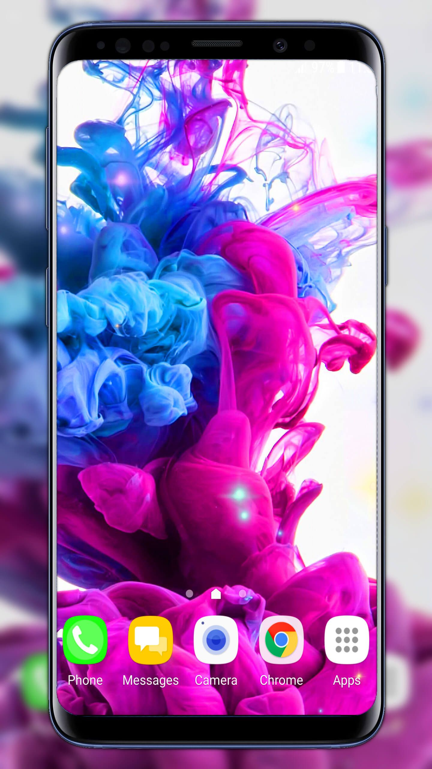 Ink In Water Live Wallpaper Inkinwater Waterdrop Wallpaper Ink In Water Water Live Wallpaper Live Wallpapers