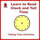 Learn to read clock and tell time with printable activities. A comprehensive package to teach kids about time from daily activities, read analog and digital clock in hours and minutes, add and subtract time, calculate length of time. Include solving story word problems related with time.