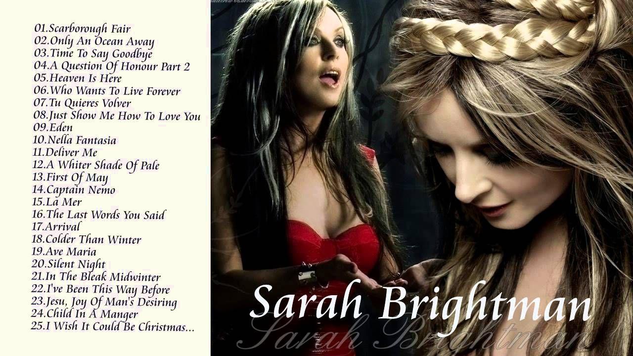 Sarah Brightman Greatest Hits || Best Songs Of Sarah ...