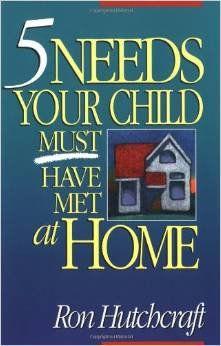 five needs your child must have met at home  children