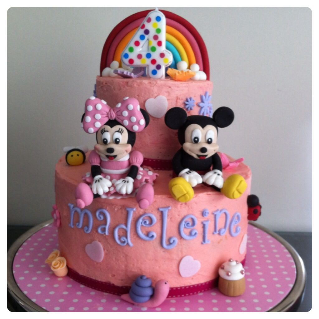 Mickey and minnie mouse cake minnie mouse cake cake