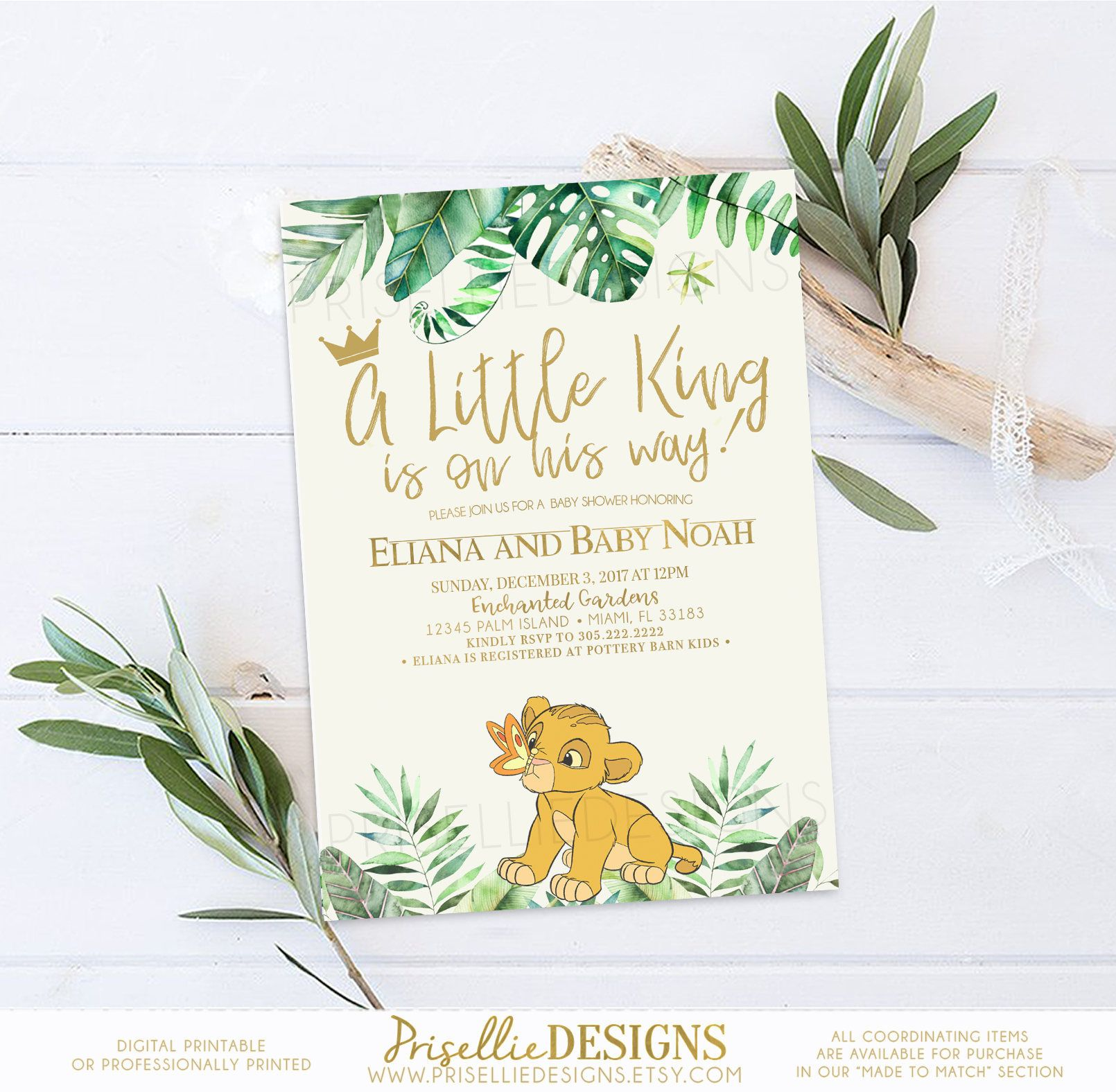 Simba baby shower invitation lion king baby shower invitation the simba baby shower invitation lion king baby shower invitation the lion king baby shower filmwisefo Gallery