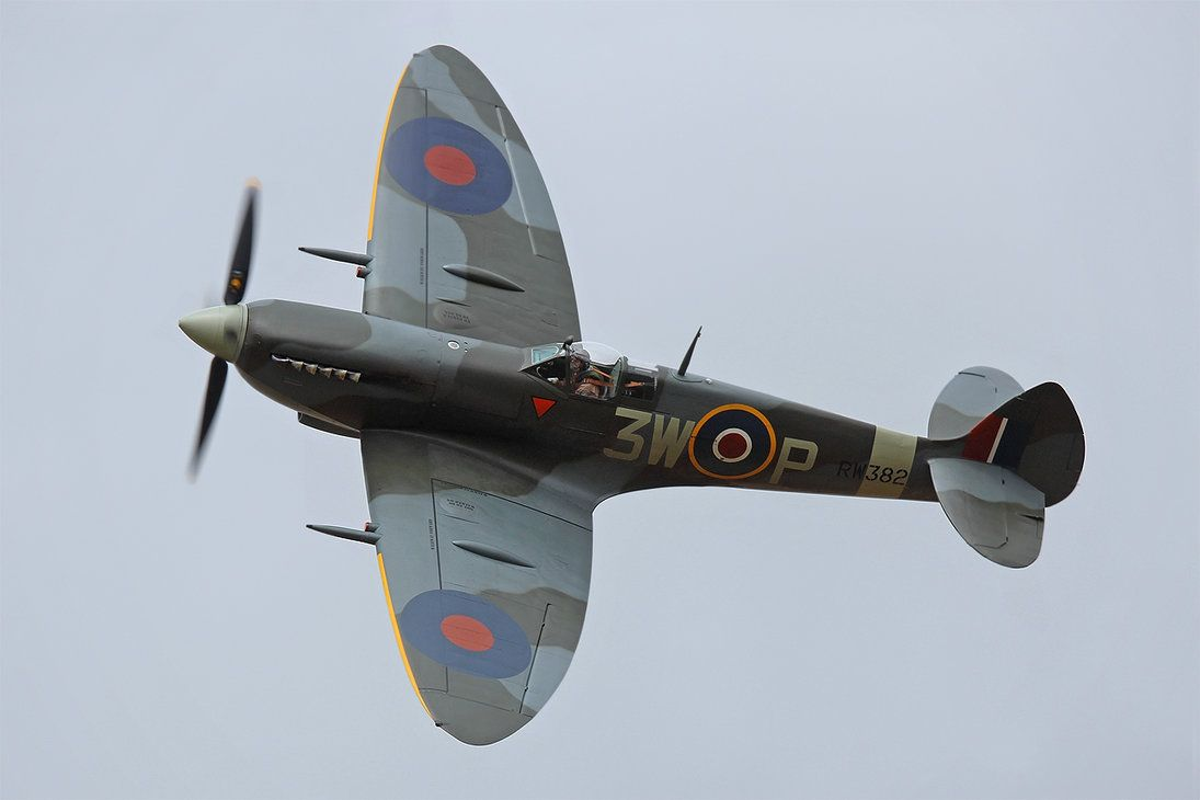 Supermarine Spitfire LF.XVIe by Daniel-Wales-Images on DeviantArt